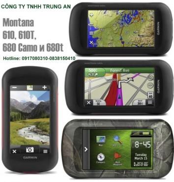 Máy định vị cầm tay cảm ứng Garmin Montana 680