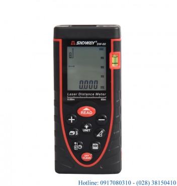 Máy laser đo khoảng cách giá rẻ Sndway SW-M60