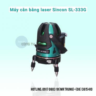 Máy cân mực laser tia xanh Sincon SL-333G