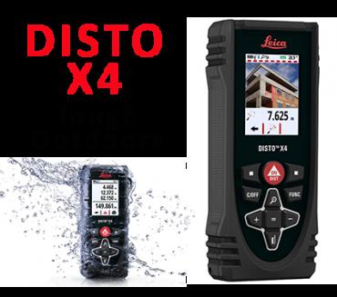Thước đo khoảng cách laser có camera đo ngoài trời Leica DISTO X4 - 150m