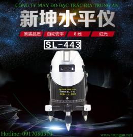 Máy thủy chuẩn laser 8 tia Sincon SL443