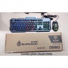 Combo phím chuột D950