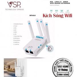 Bộ kích sóng Wifi 4 ăngten