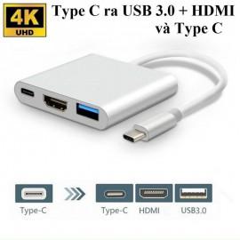 Cáp chuyển Type C sang HDMI , USB, Type C