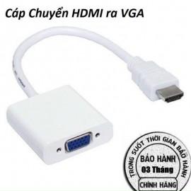 Cáp chuyển HDMI ra VGA