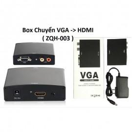 Bộ chuyển VGA sang HDMI sắt