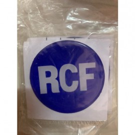 Tem loa nhựa dẽo RCF xanh, giá 1 cặp (2 chiếc )