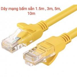 Dây mạng, dây mạng bấm sẵn ,dài 5m