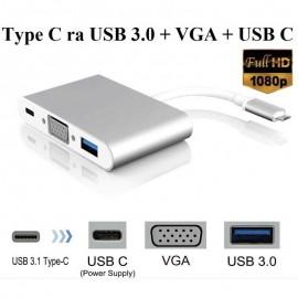 Cáp chuyển Type C sang Usb, VGA , Usb C