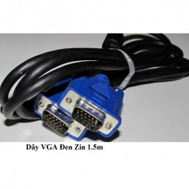 Dây VGA, dây 2 đầu VGA, dài 1.5m