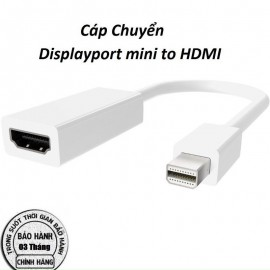 cáp chuyển Displayport mini to HDMI