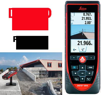 Máy đo khoảng cách laser Leica DISTOTM S910